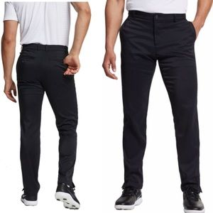 Nike Golf Men's Black Flat Front Pant